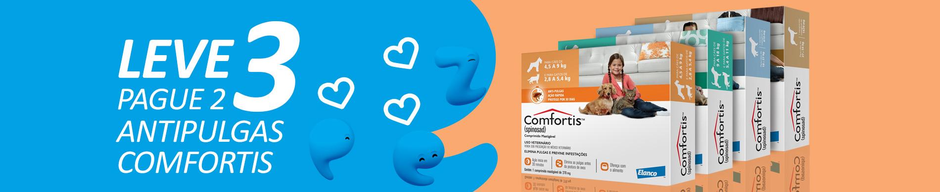 Promoção Antipulgas Comfortis
