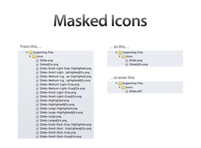 Masked Icons