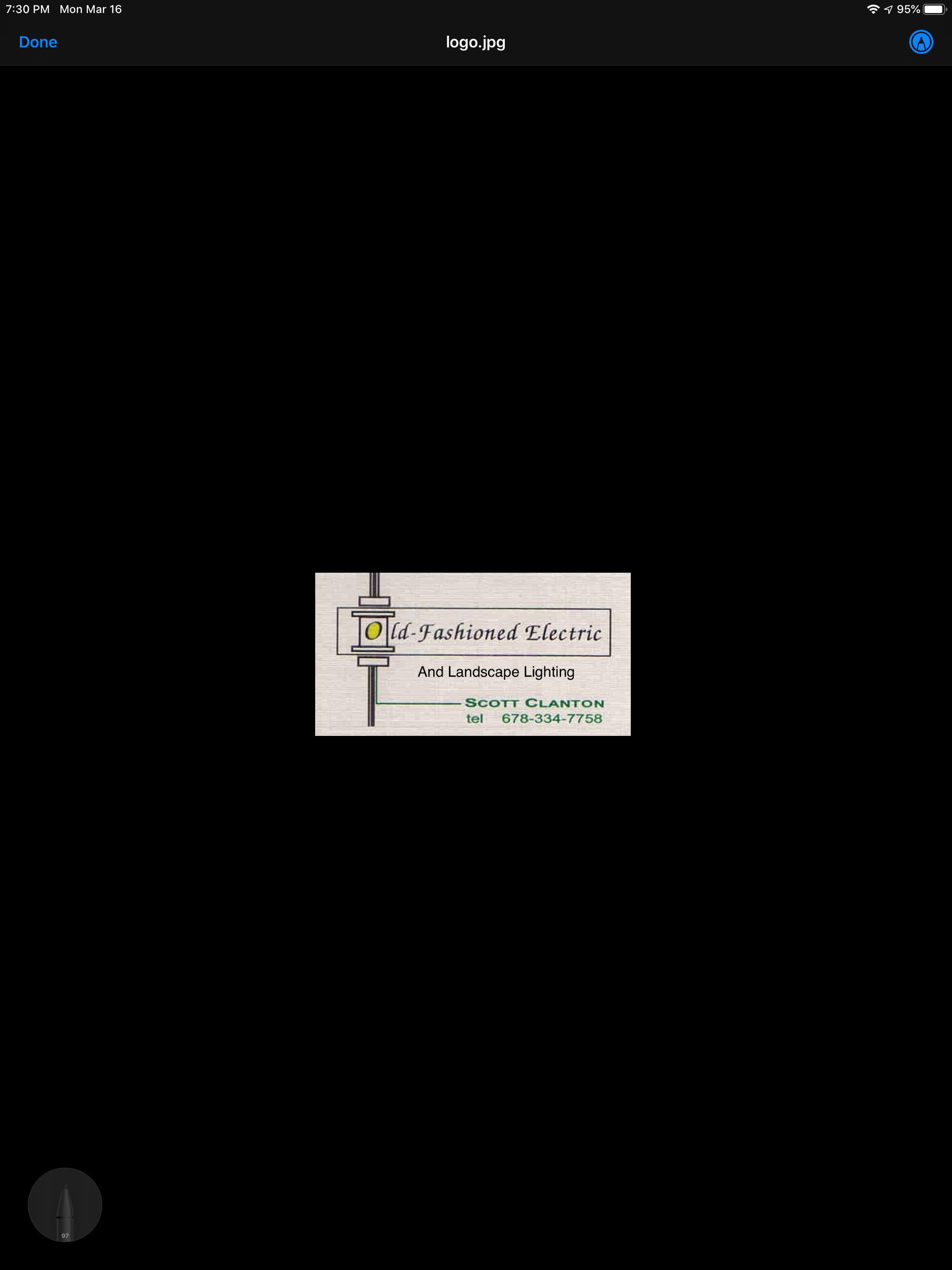Old-Fashioned Electric. LLC Logo