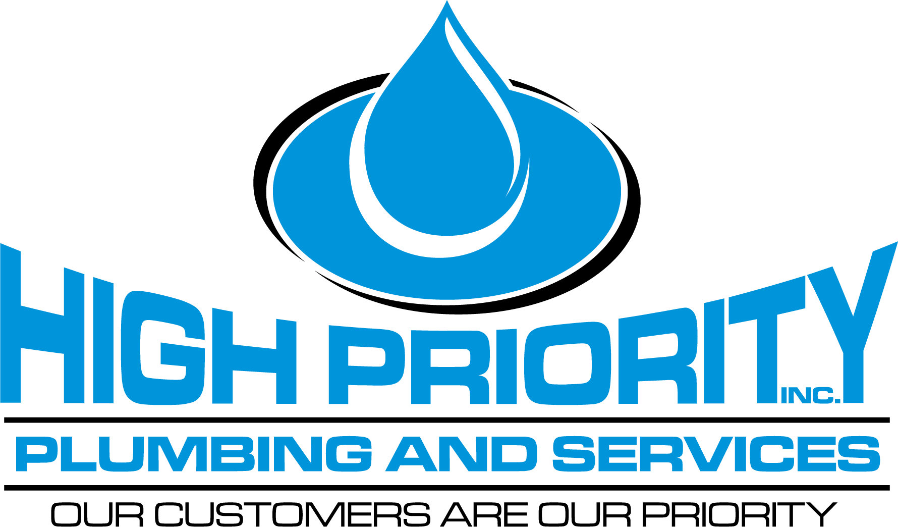 High Priority Plumbing and Services, INC Logo