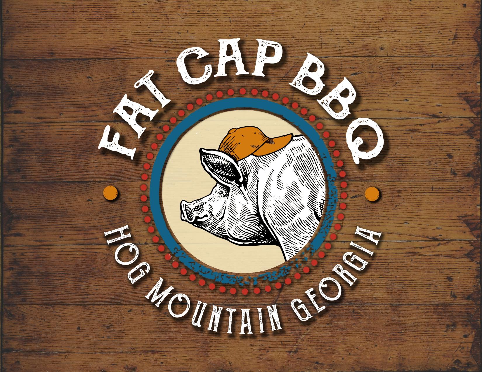 Fat Cap BBQ Logo