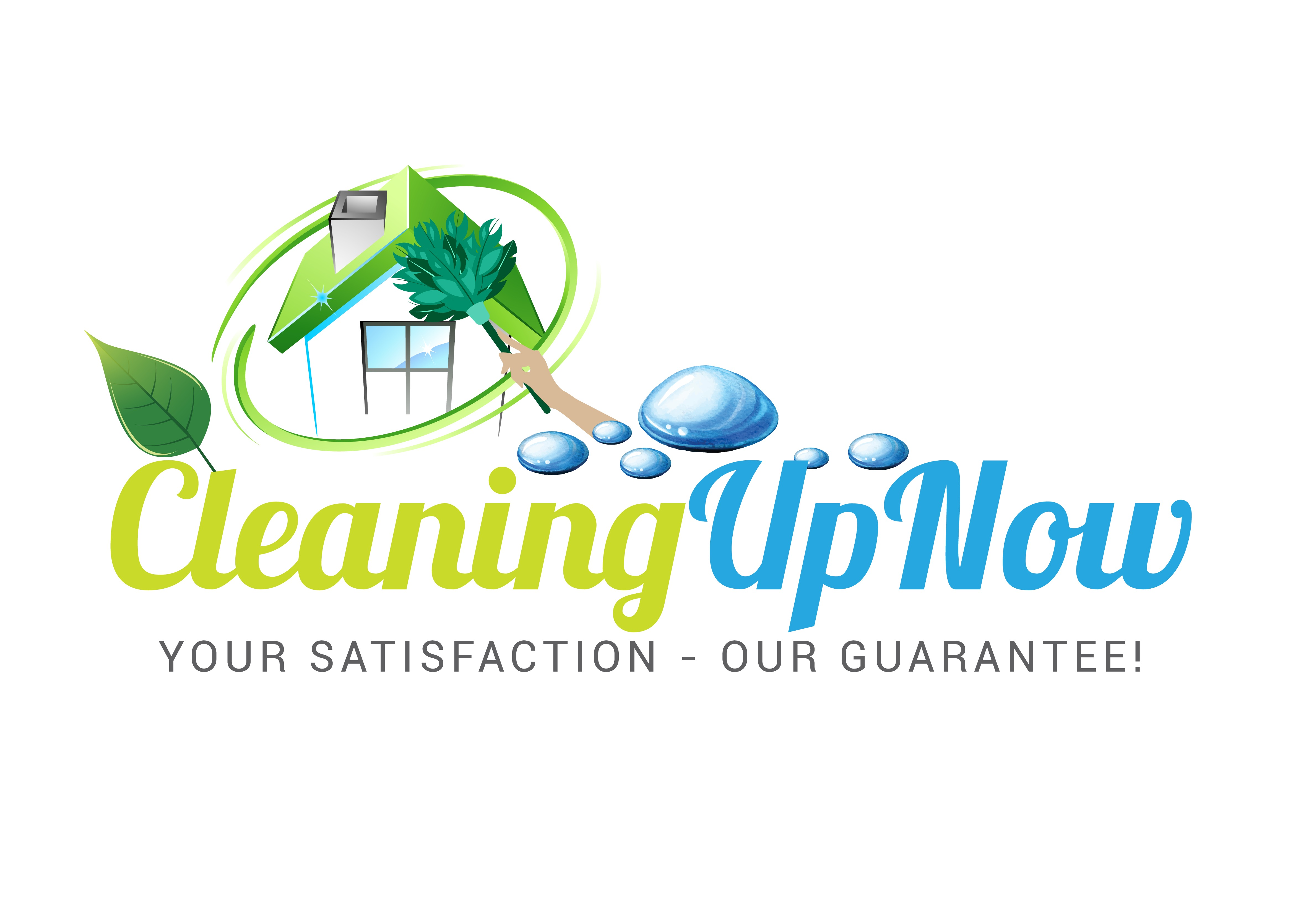 CleaningUpNow LLC  Logo