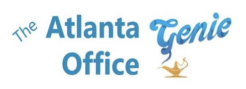 The Atlanta Office Genie  Logo