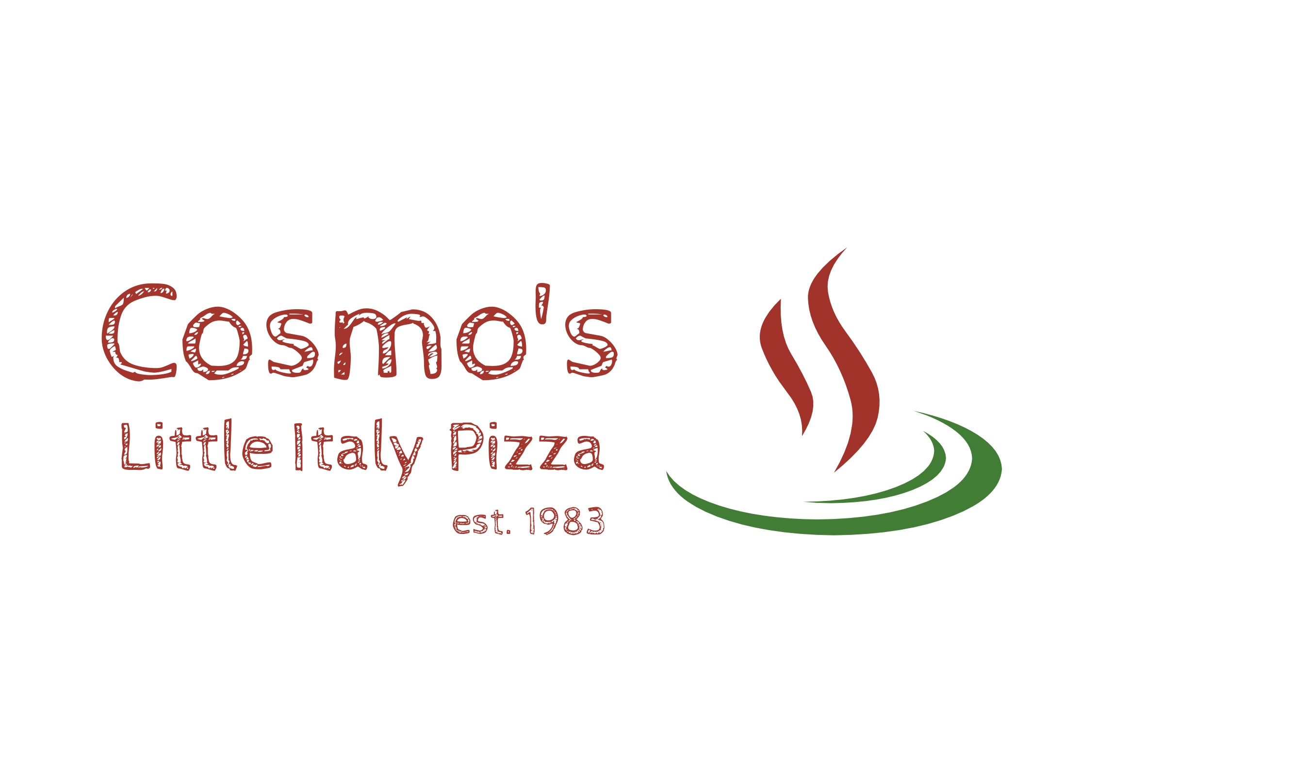 Cosmo's Little Italy Pizza Logo