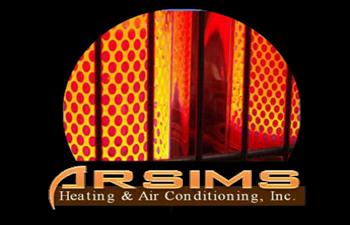 A.R.SIMS Heating & Air Conditioning Inc. Logo