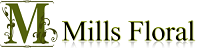 Mills Floral Company Logo