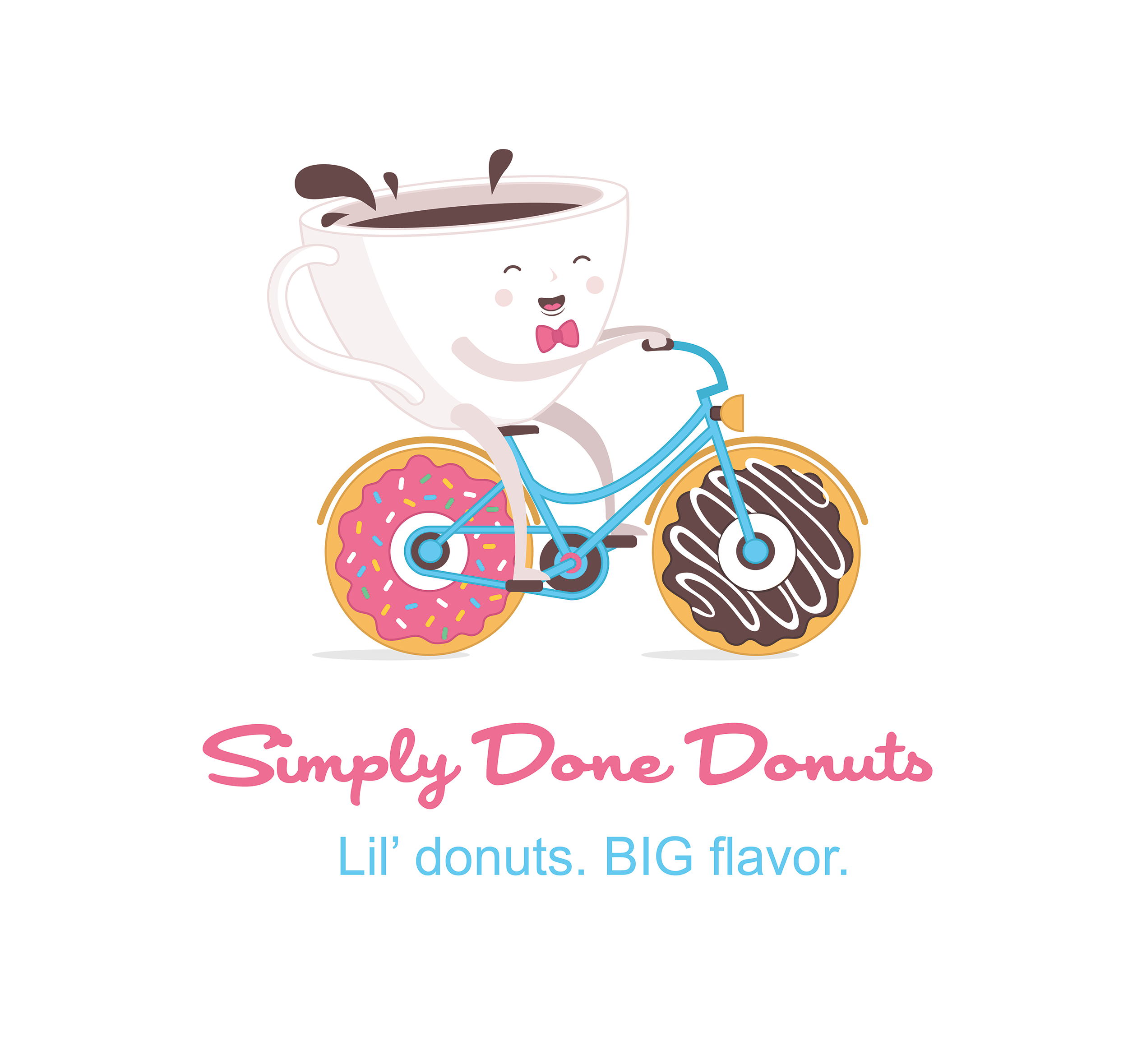 Simply Done Donuts Logo