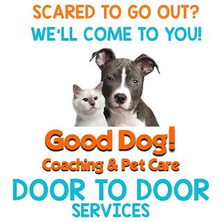 Good Dog! Coaching & Pet Care Logo