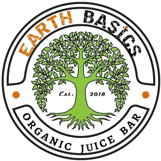 EARTH BASICS ORGANIC JUICE BAR Logo