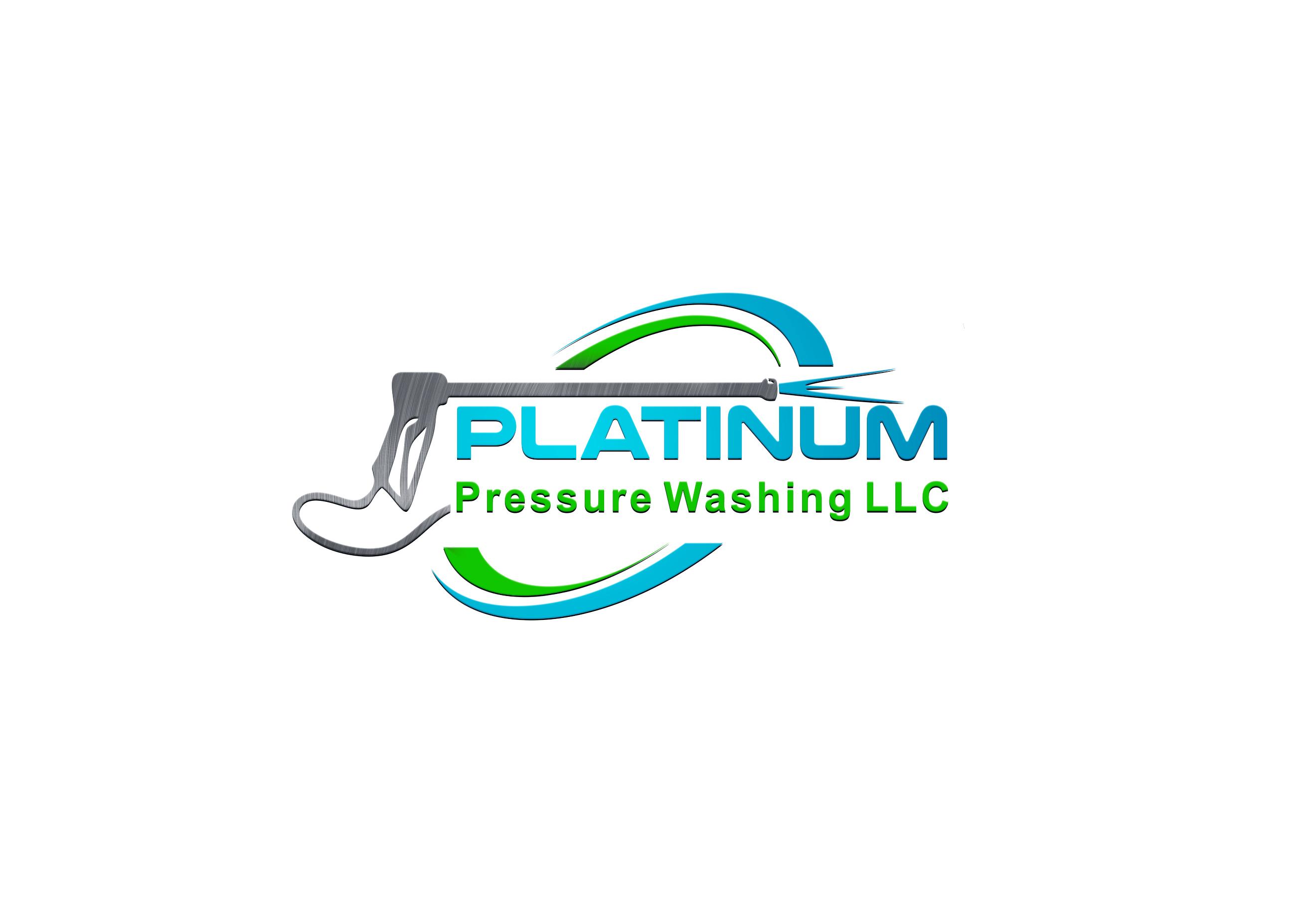 Platinum Pressure Washing LLC  Logo