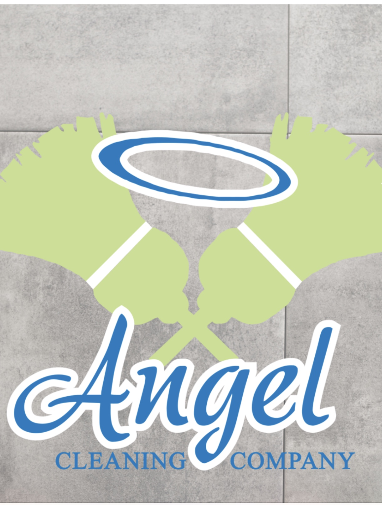 Angel Cleaning Company  Logo