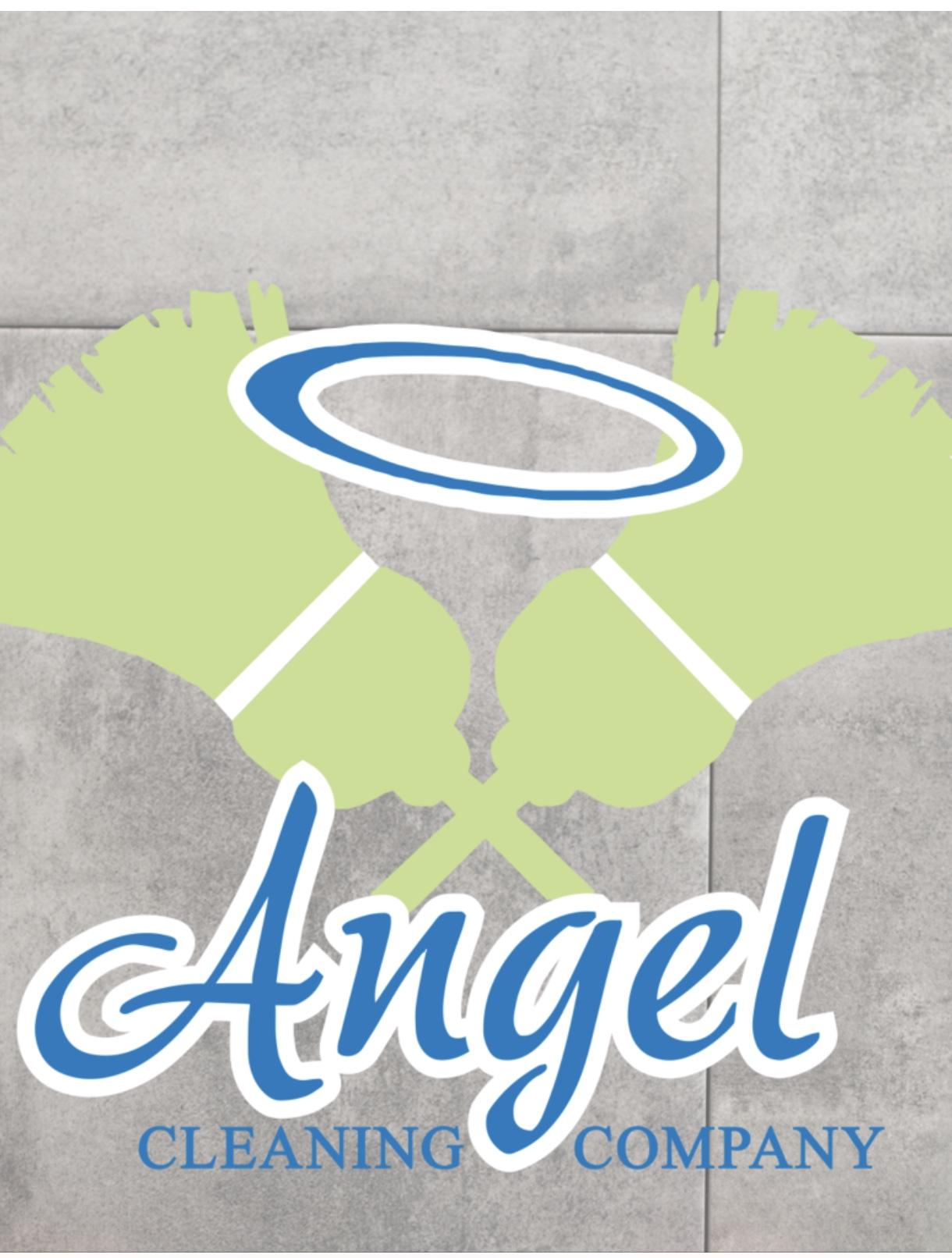 Angel Cleaning Company  Logo