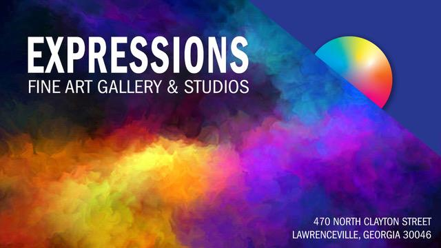 Expressions Fine Art Gallery and Artist Studios Logo
