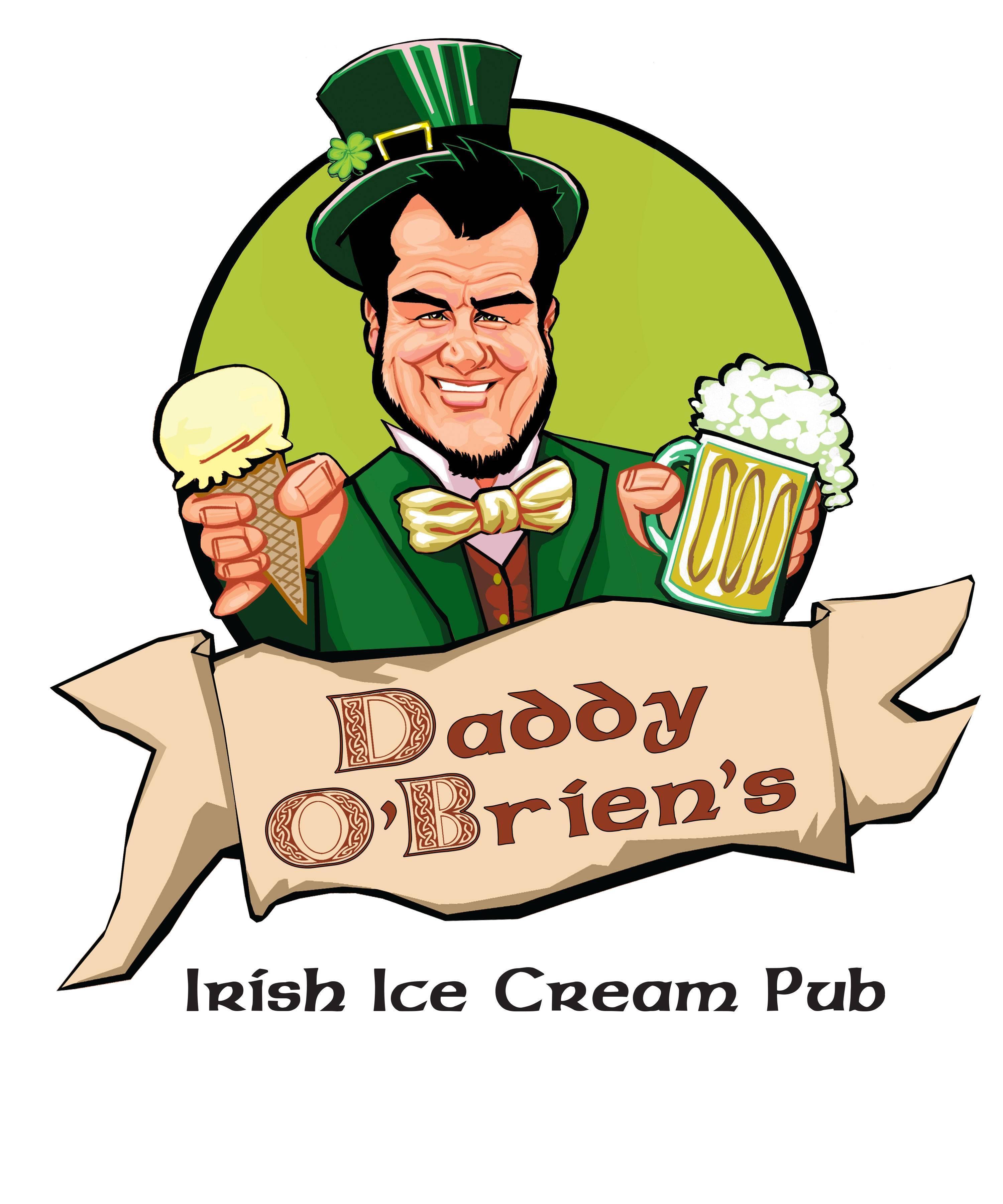 Daddy O'Brien's Irish Ice Cream Pub and Restaurant Logo