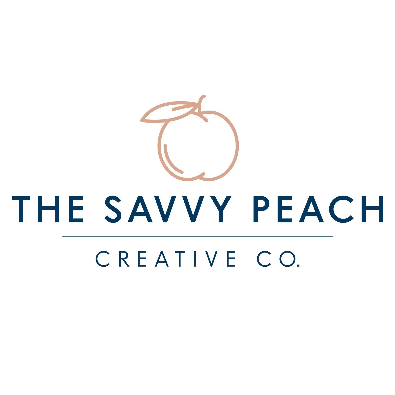 The Savvy Peach Creative Co. Logo