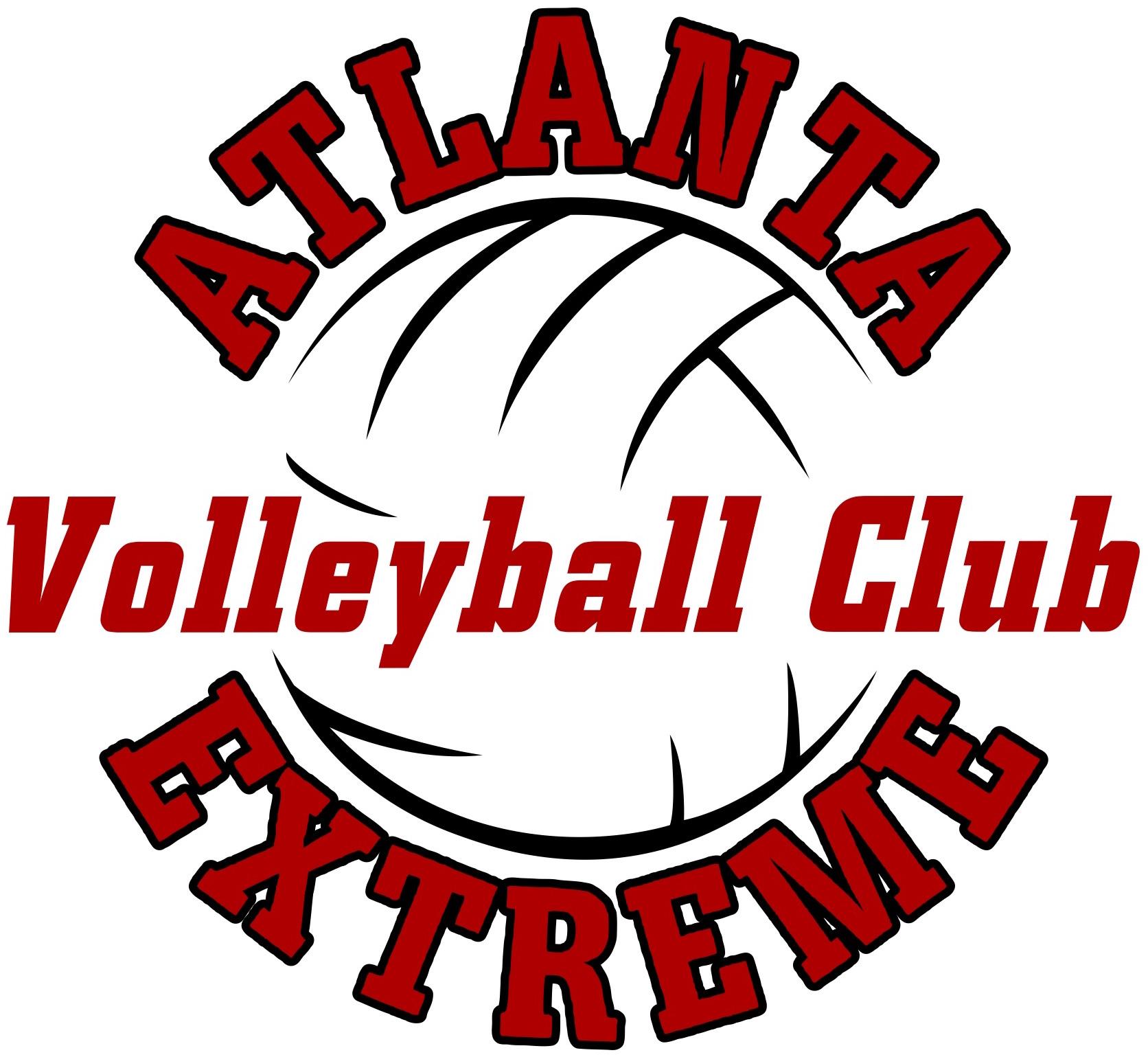 Atlanta Extreme Volleyball Club Logo