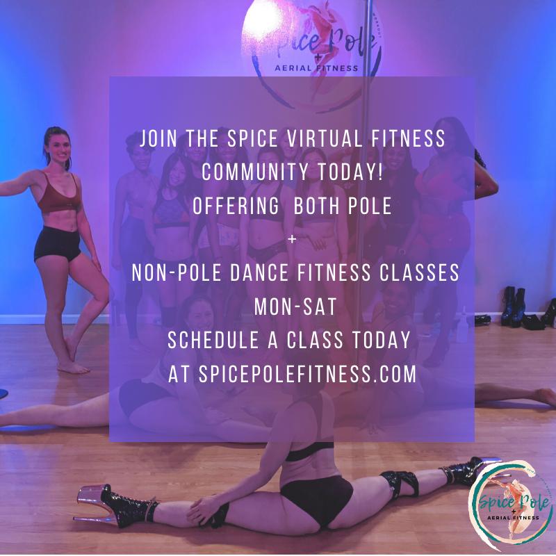 Spice Pole + Aerial Fitness Logo