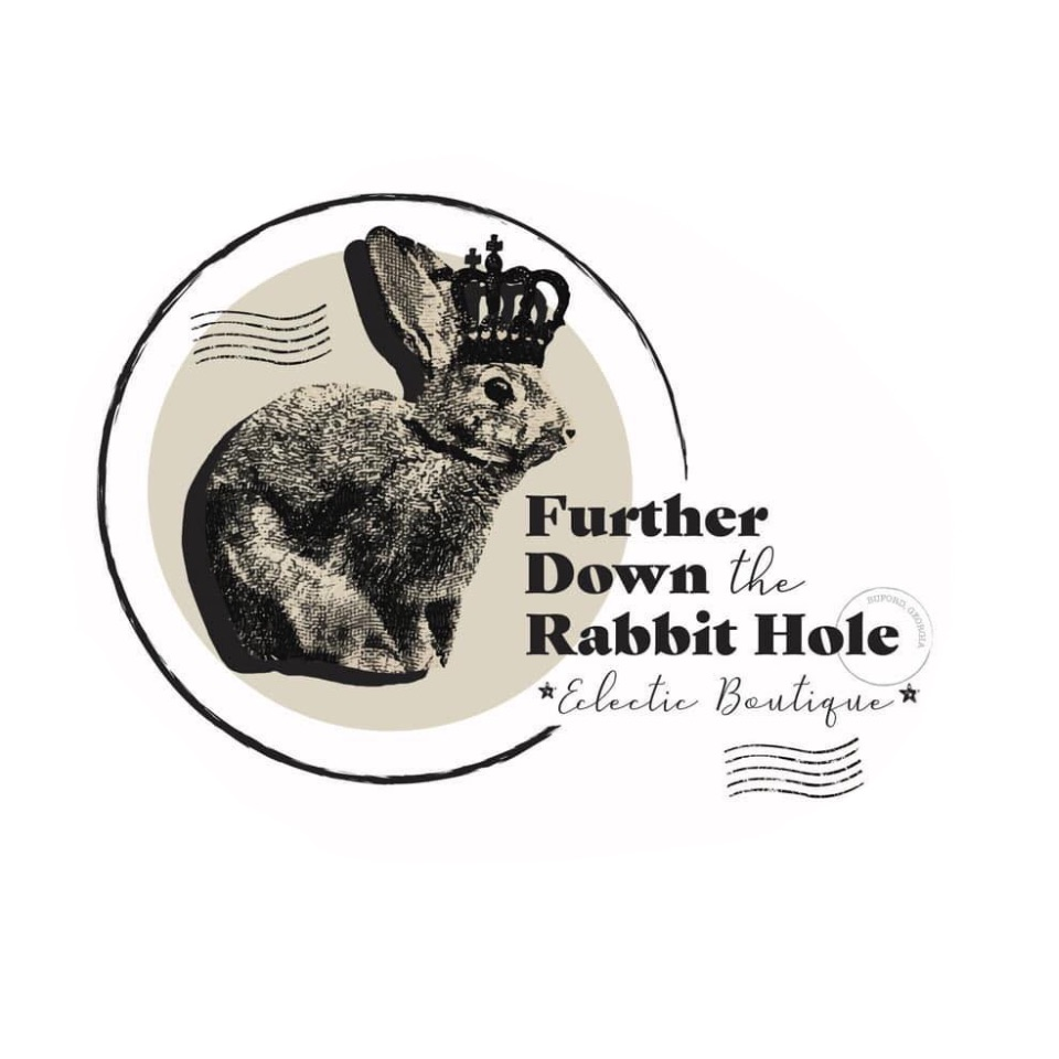 Further Down the Rabbit Hole  Logo