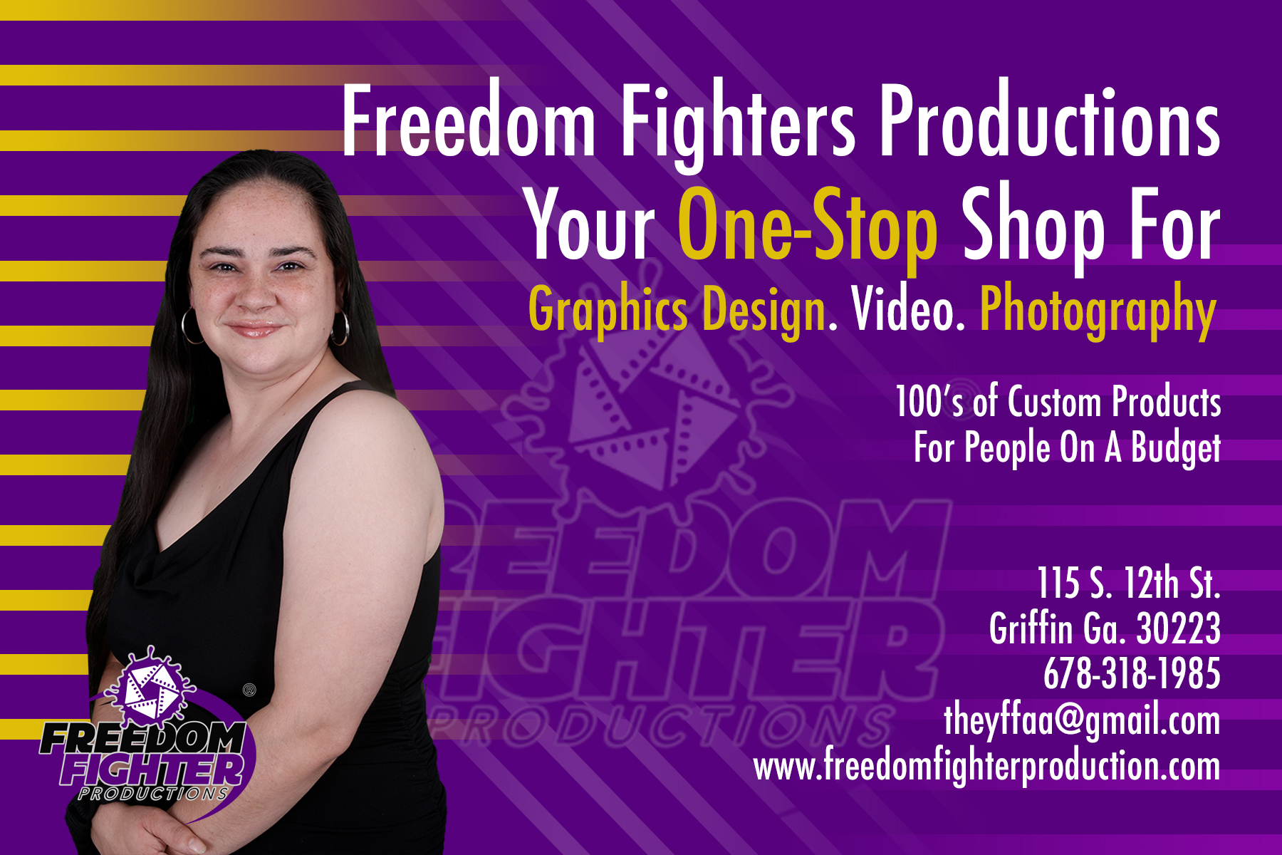 Freedom Fighter Productions  Logo