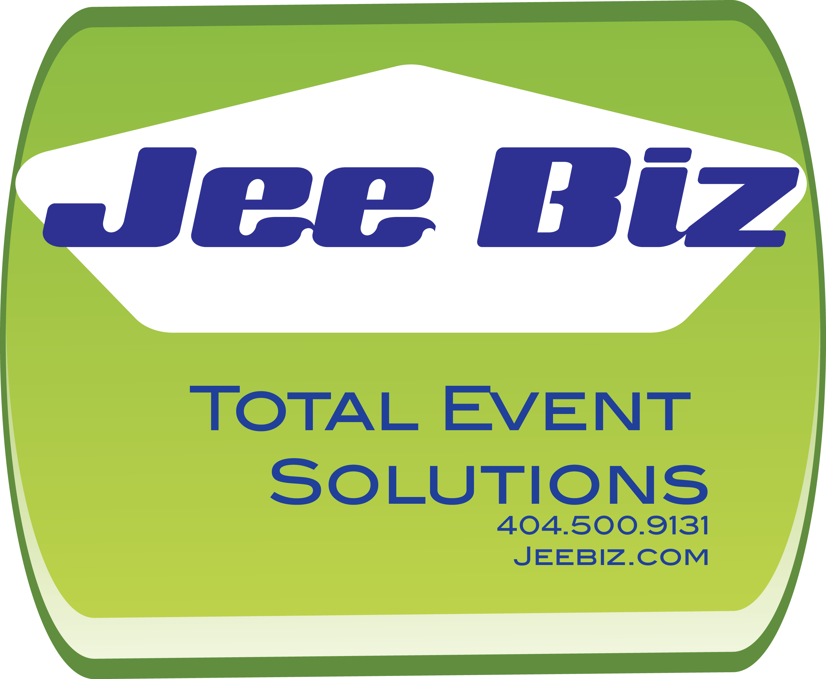 JEE BIZ TOTAL EVENT SOLUTIONS Logo