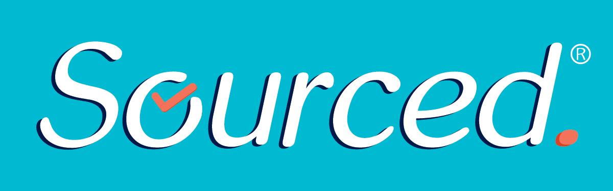 Sourced.  Logo