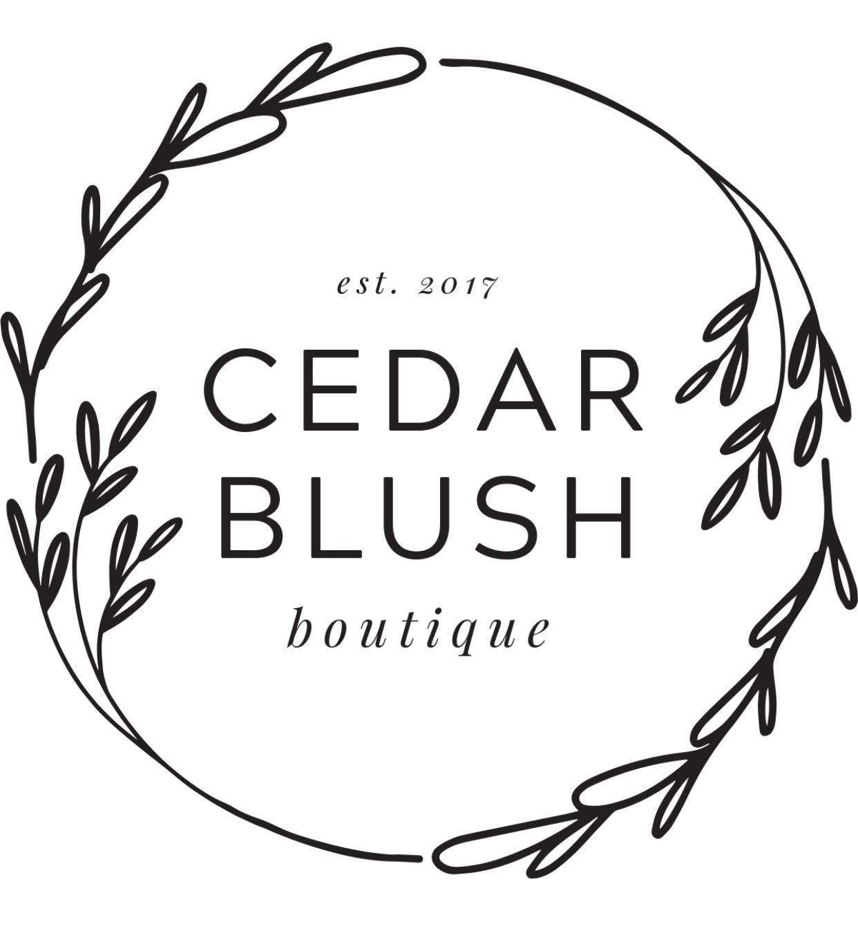 Cedar Blush Boutique Logo