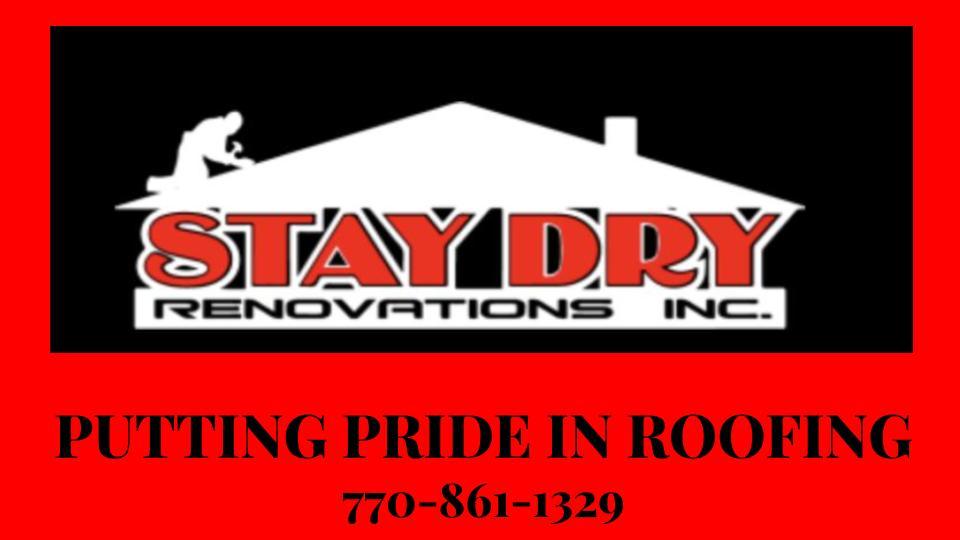 Stay Dry Renovations, Inc  Logo