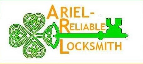 Ariel Reliable Locksmith Logo