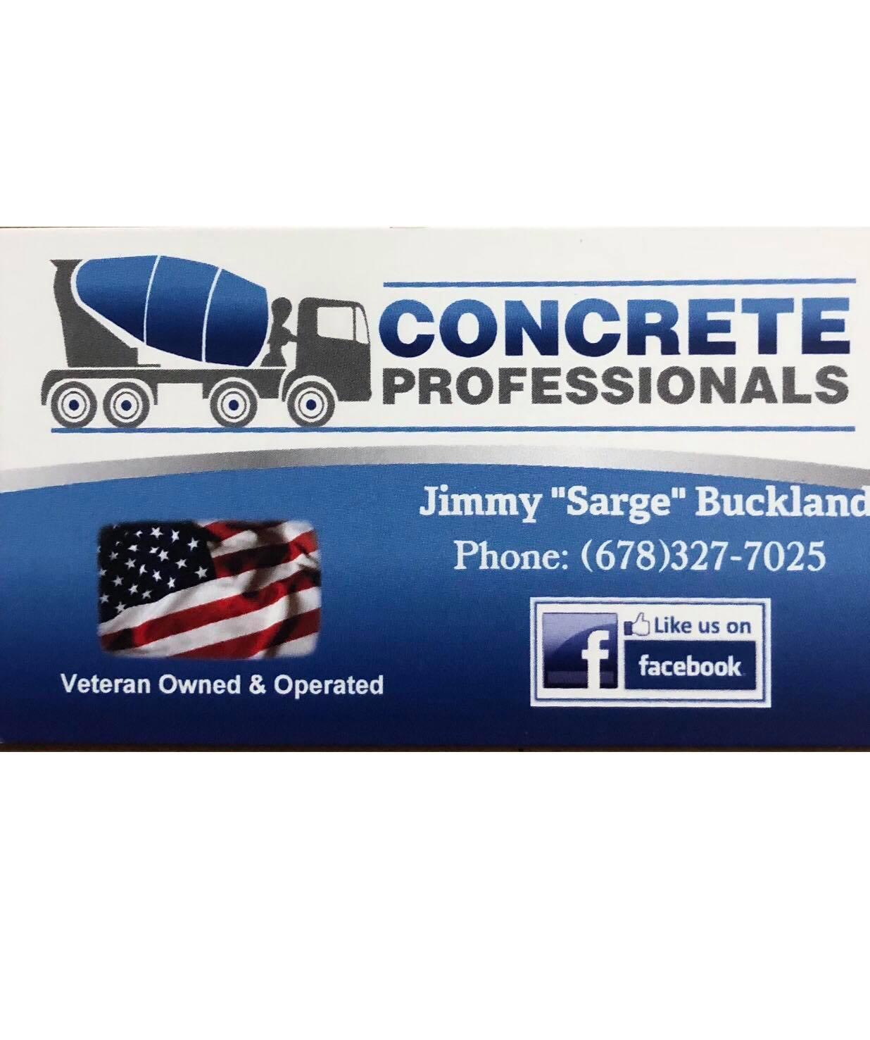 Concrete Professionals Logo