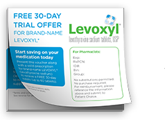 Free 30-day trial offer for a prescription hypothyroid treatment