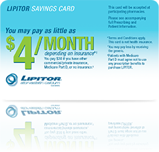 Help eligible patients save on their next cholesterol lowering treatment with savings card. Terms and conditions apply.