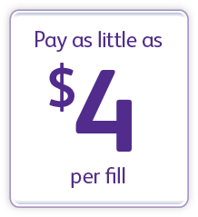 Pay as little as $4