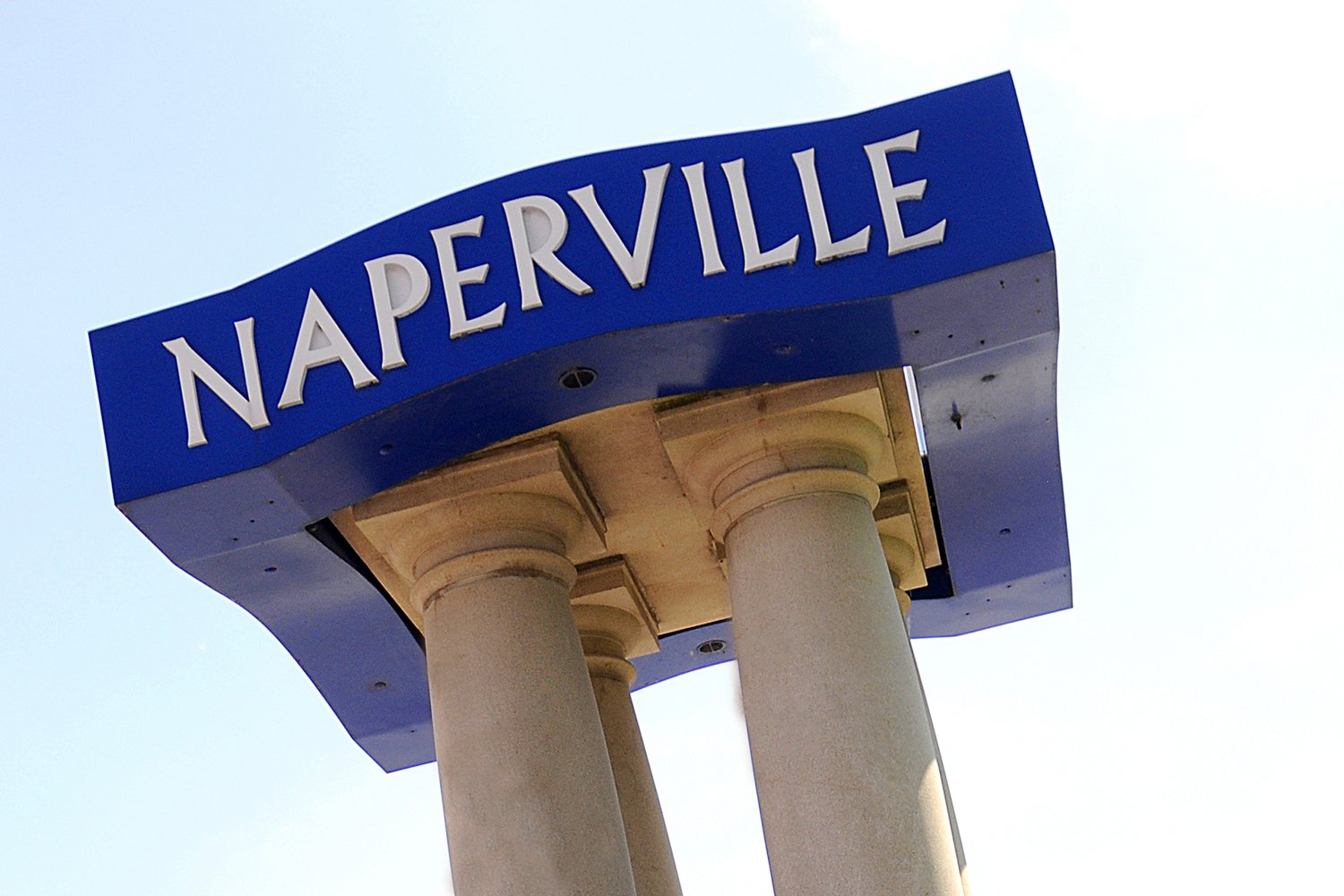 Naperville sign horizontal