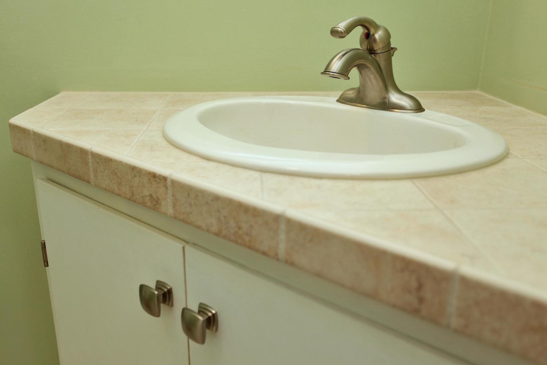 Half bath detail
