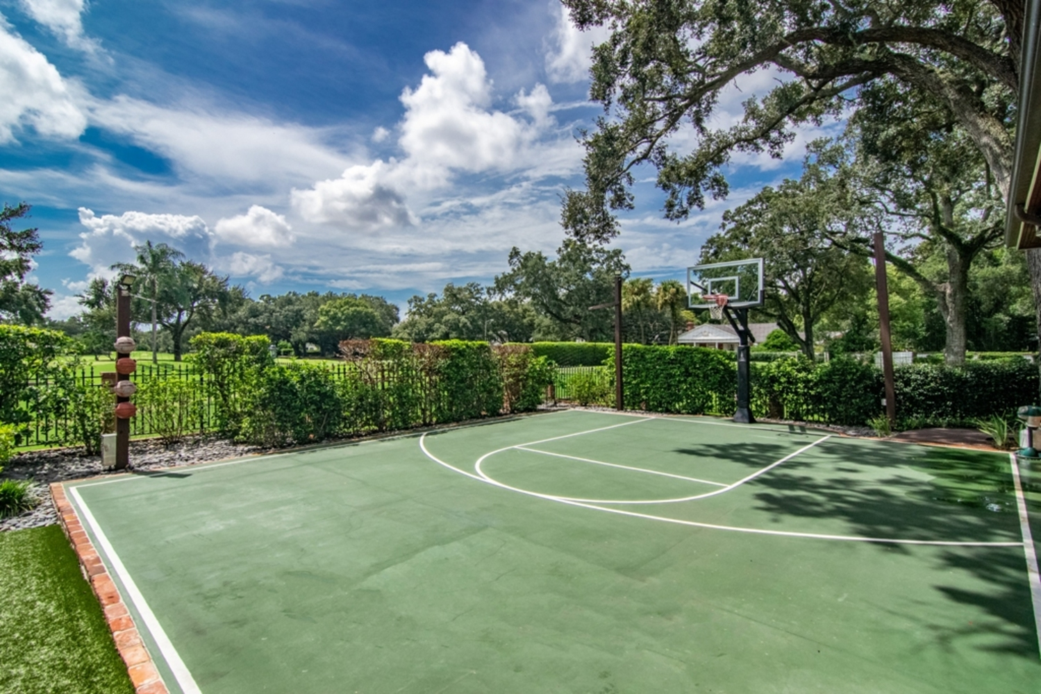 133 basketball court