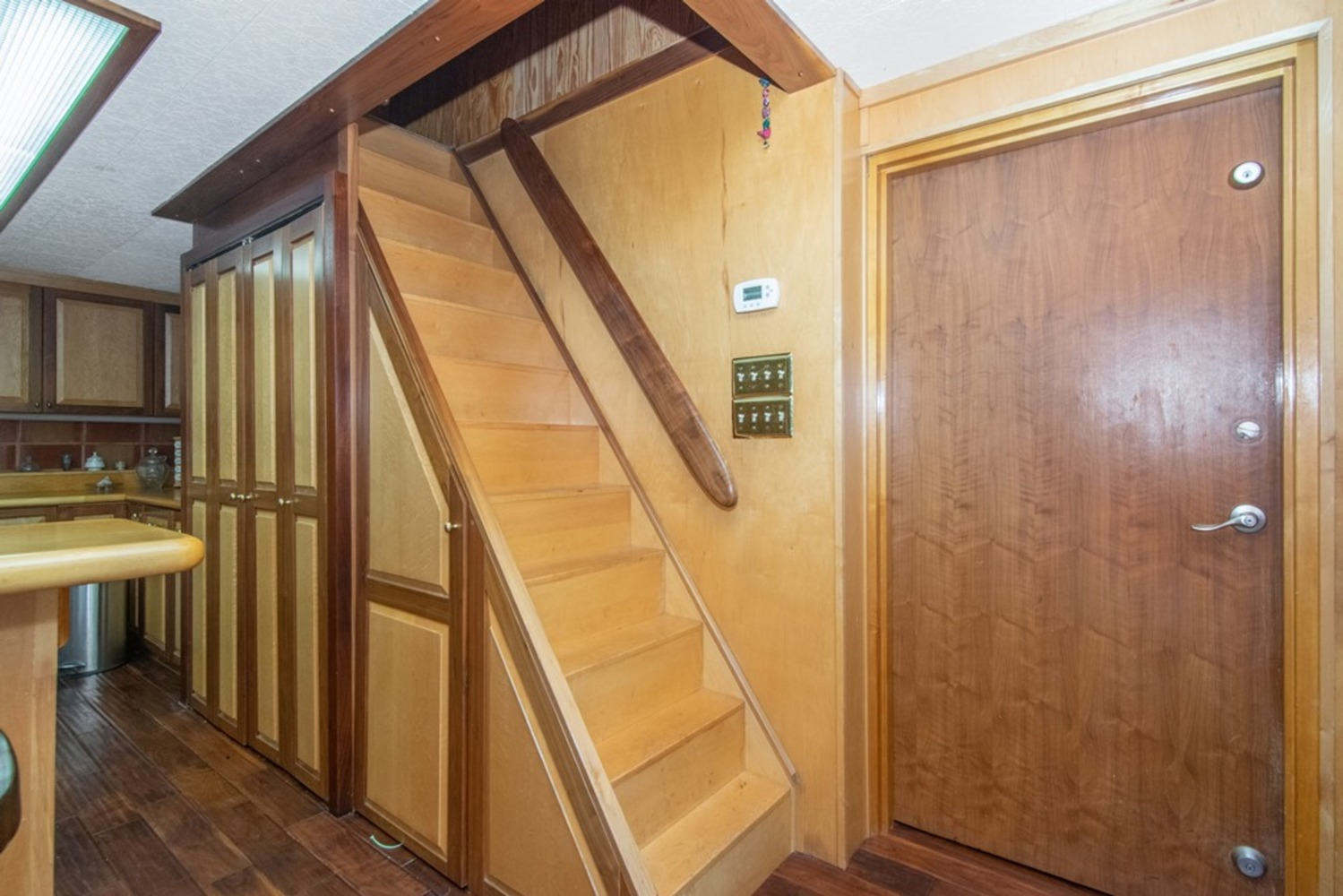 28 stairs to second loft