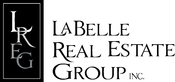 Labelle logo vertical bw