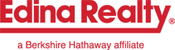 Edina realty logo red letters