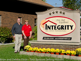 Brian and deb integrity sign