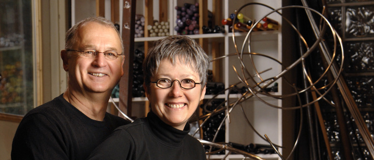 Co-founders Kathleen Mulcahy and Ron Desmett
