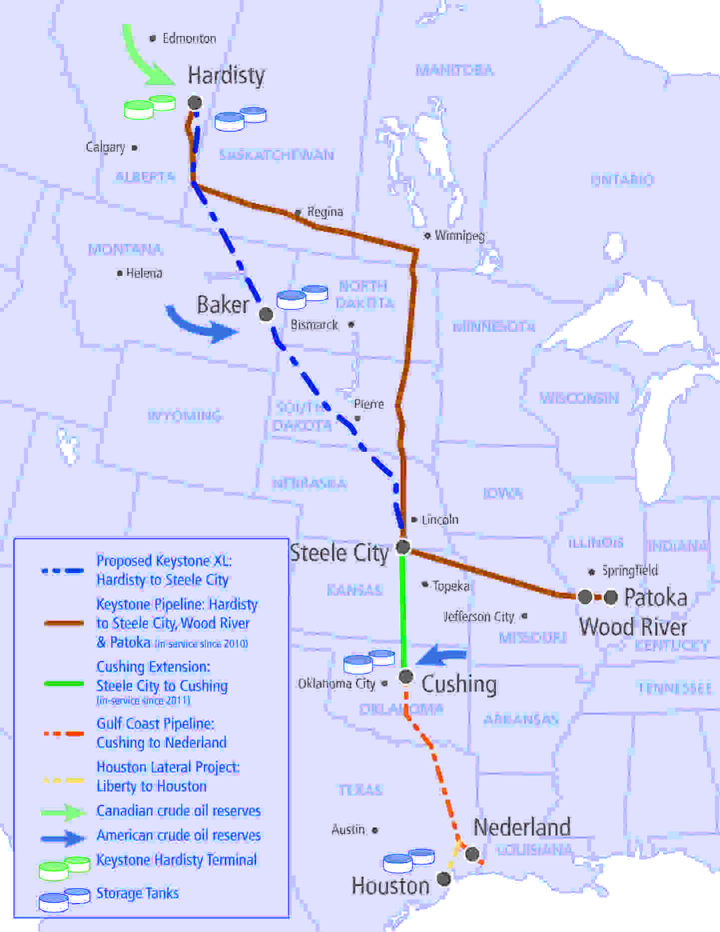 Keystone Pipeline System 2013_Highlights