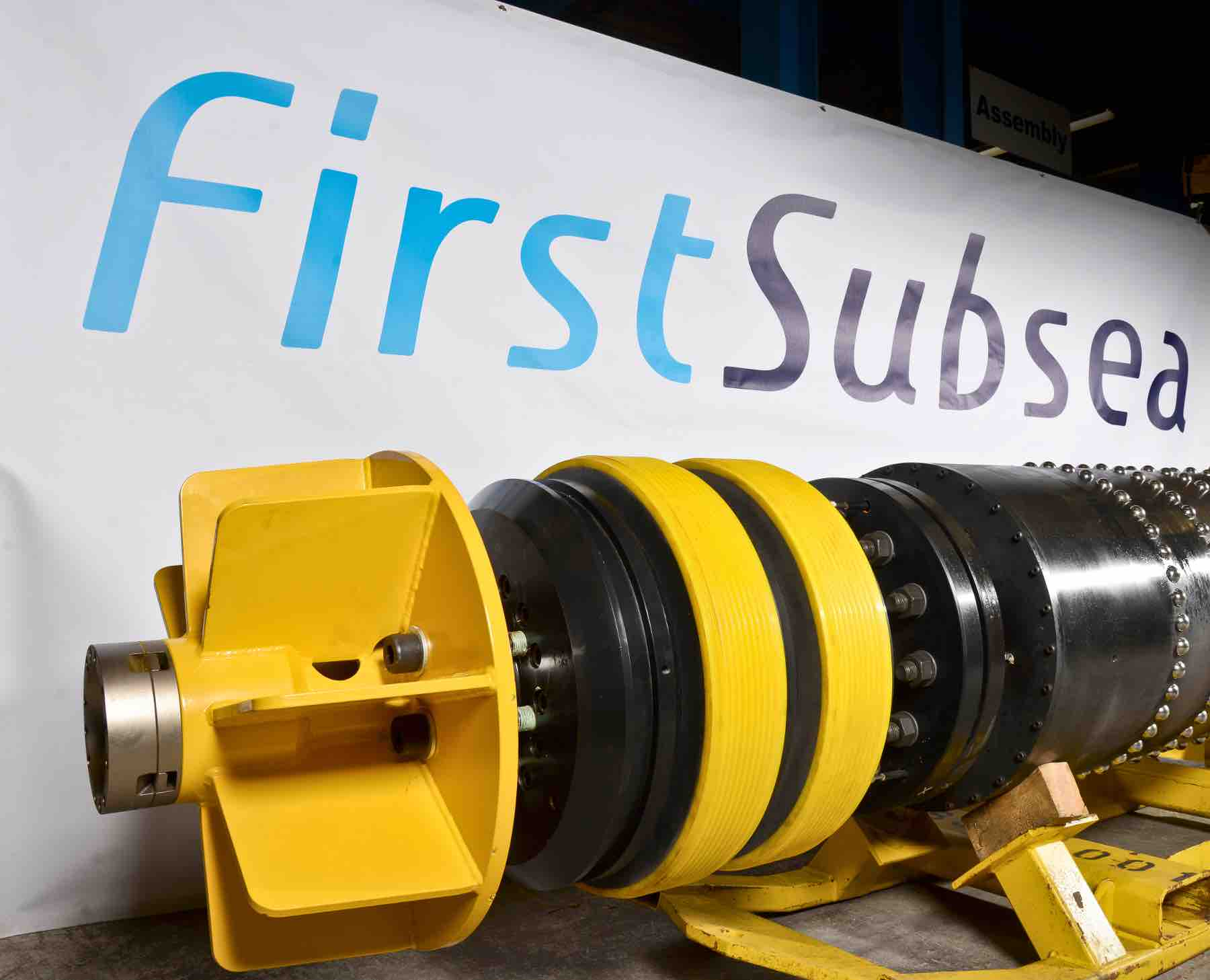 First Subsea PRT for Sur de Texas-Tuxpan pipeline.