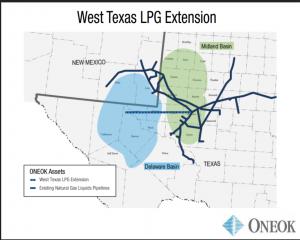West Texas LPG Pipeline Map