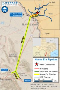 Nueva Era Pipeline system map