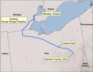 Utopia Pipeline system map