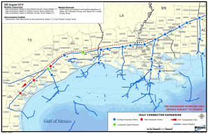 gulf-connector expansion project map