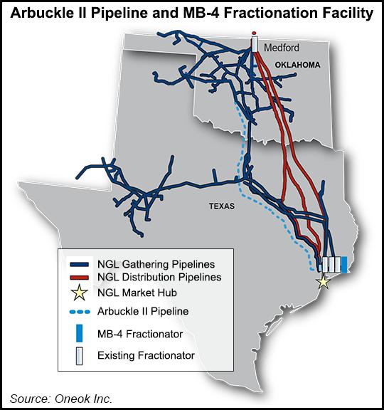 Arbuckle II Pipeline map Pipeline News