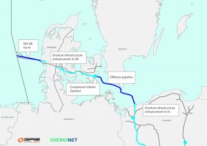 Baltic Pipe Project Map