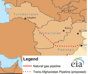 Proposed TAP Pipeline map. Photo courtesy of the Energy Information Administration.