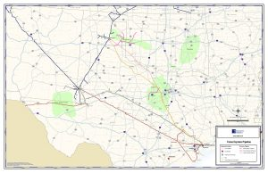 Texas Express Pipeline map